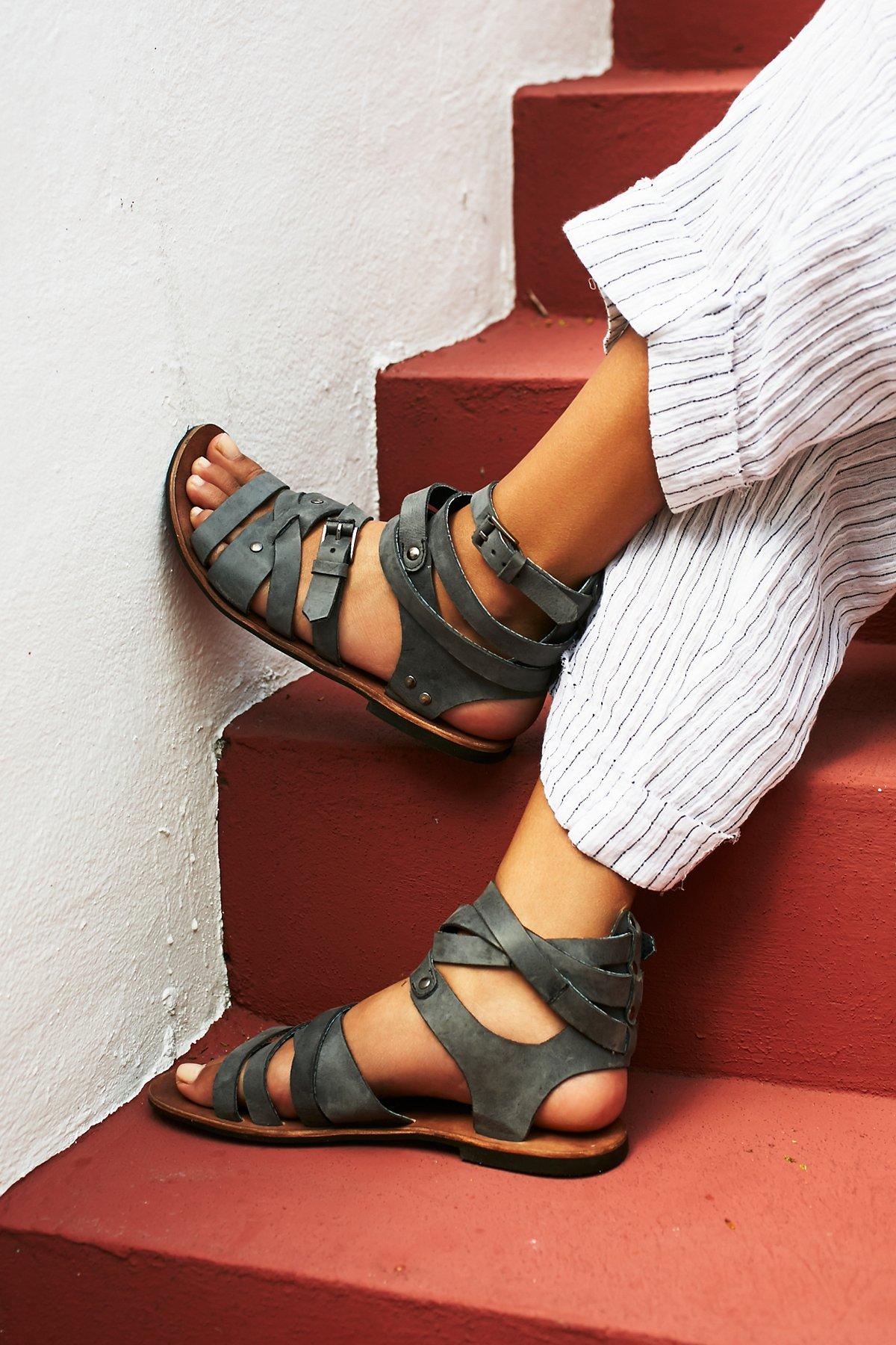 Durango Metal Gladiator Sandals