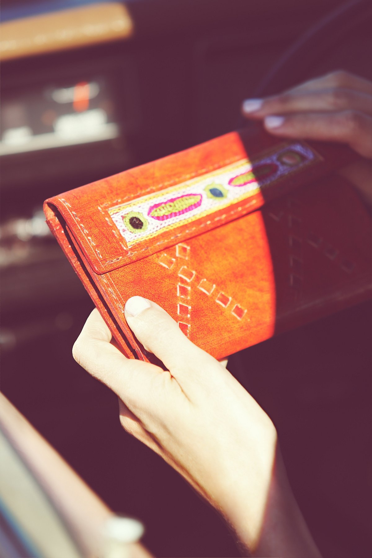 Mesa Leather Wallet