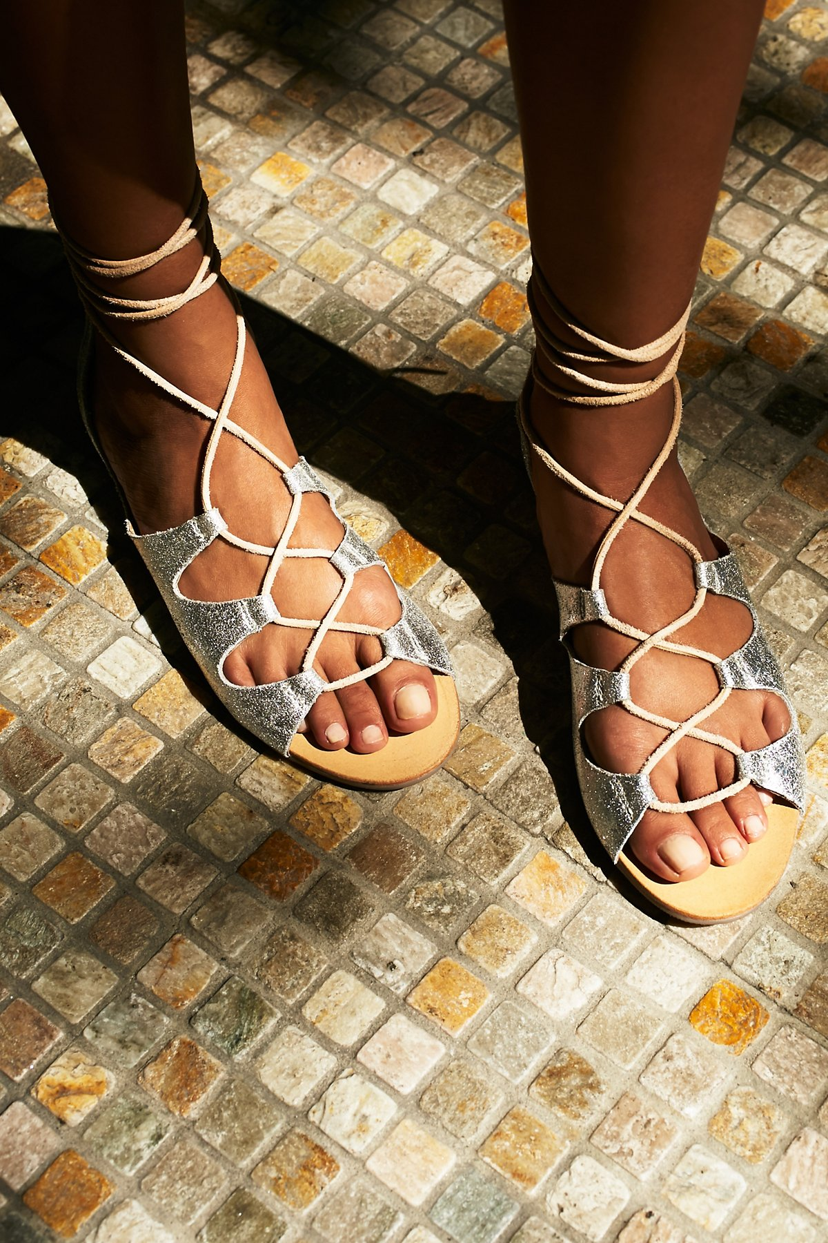 Marrakesh Lace Up Sandal