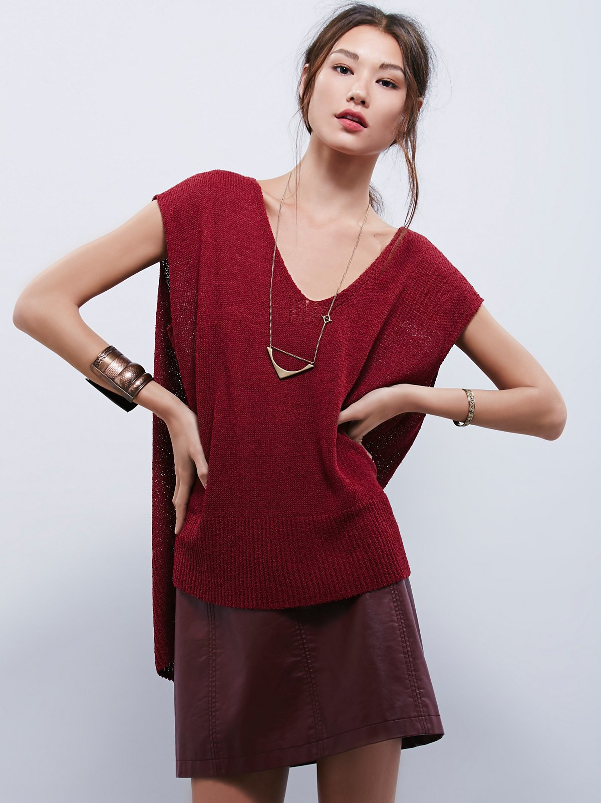 Easy Tea V-Neck Sweater