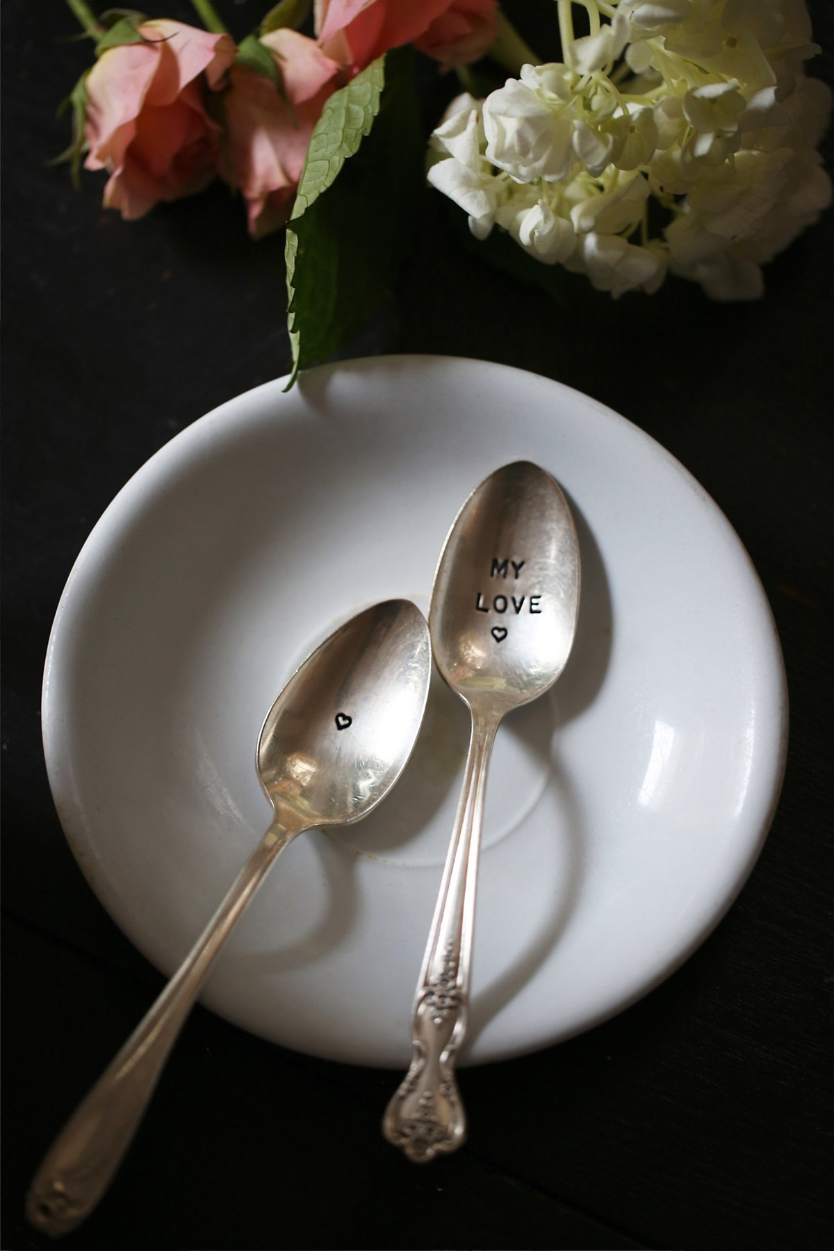 FP Vintage Engraved Spoons