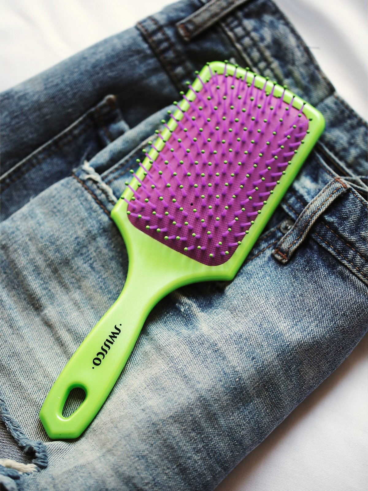 Oil Infused Paddle Brush