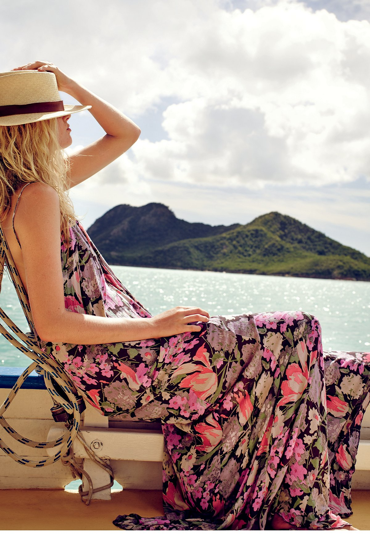 FP ONE Strappy Floral Maxi