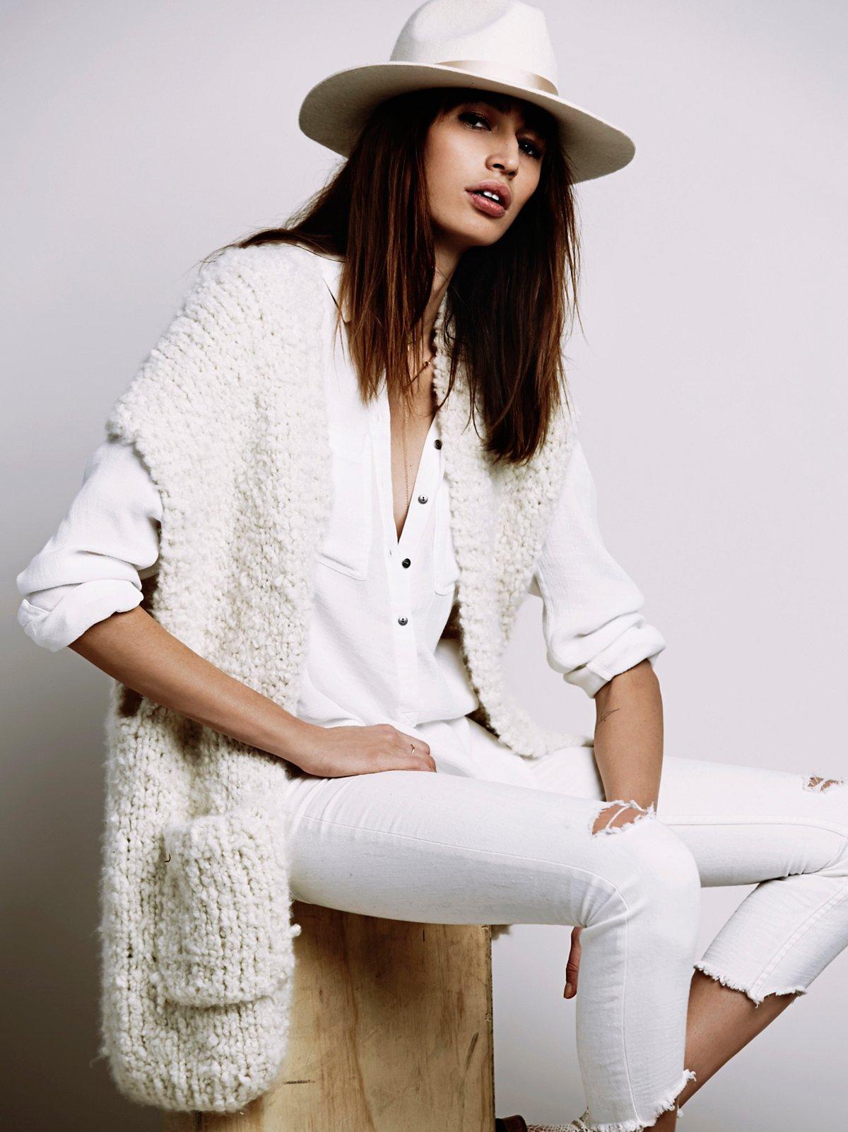 Nancy Baker Limited Edition Cashmere Sweater Vest