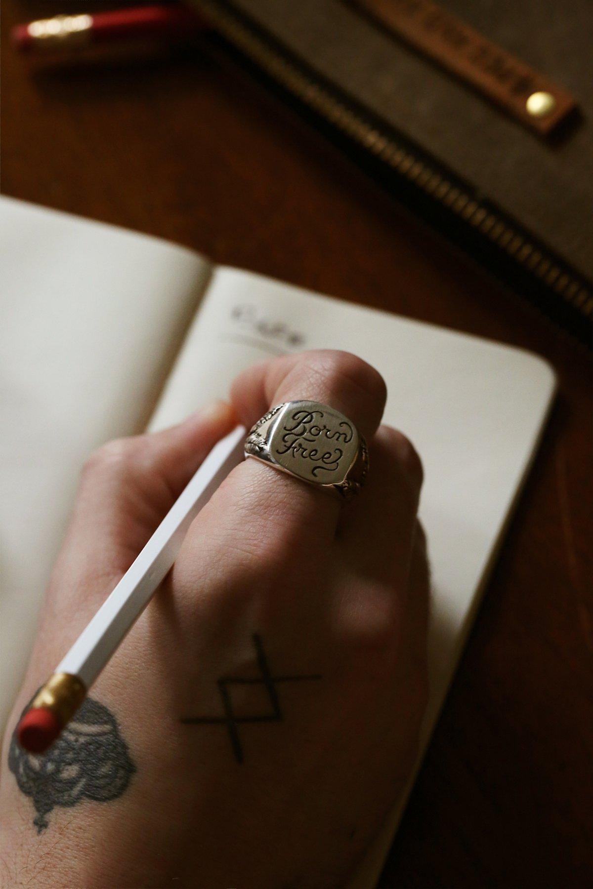 Born Free Signet Ring