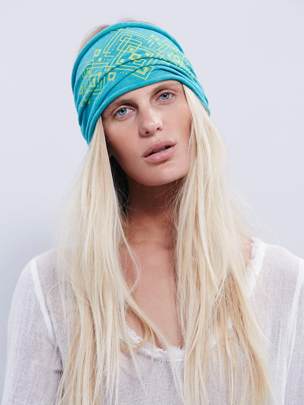 Organic Printed Headband