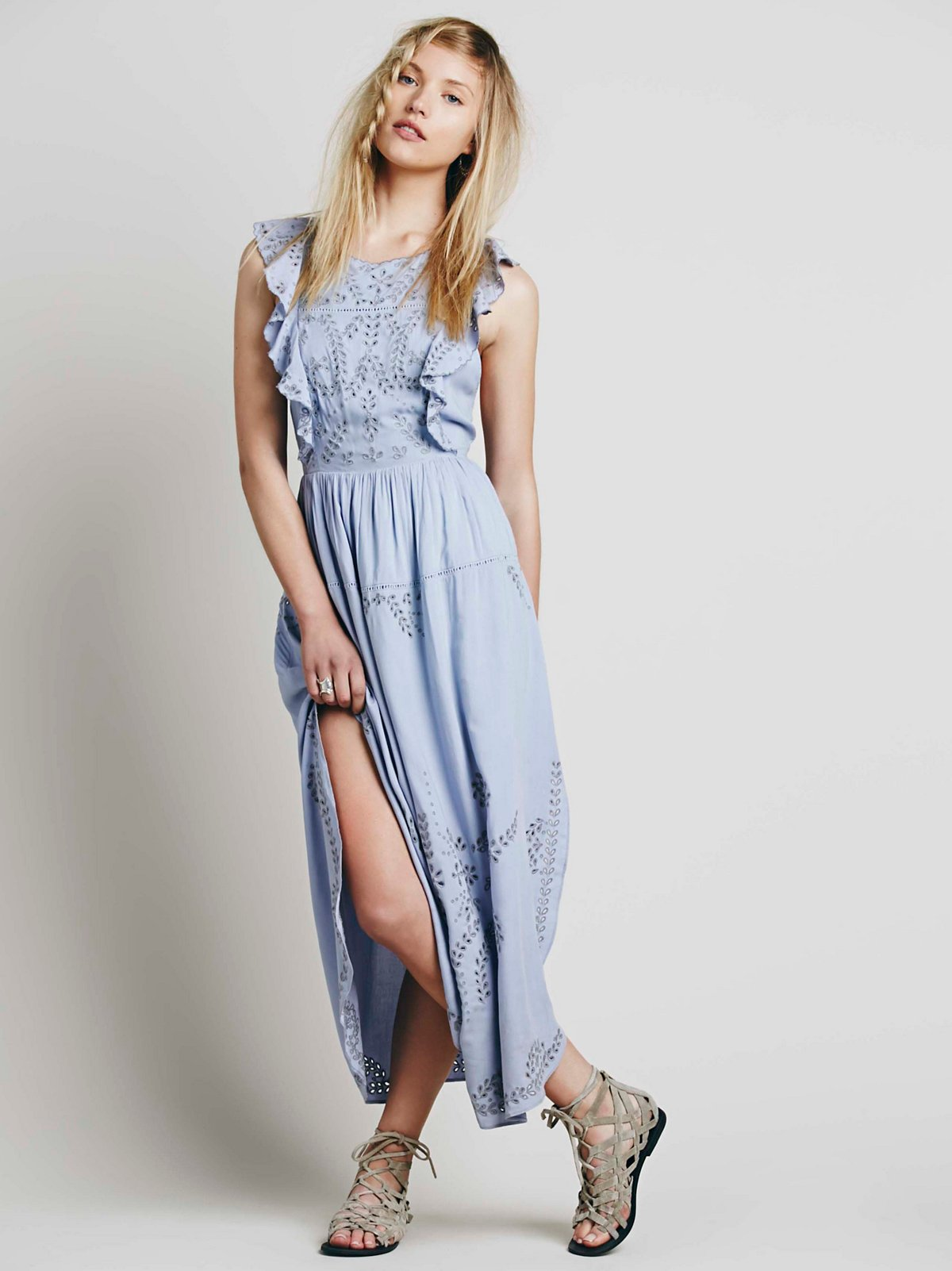 Pennylane Pinafore Maxi Dress