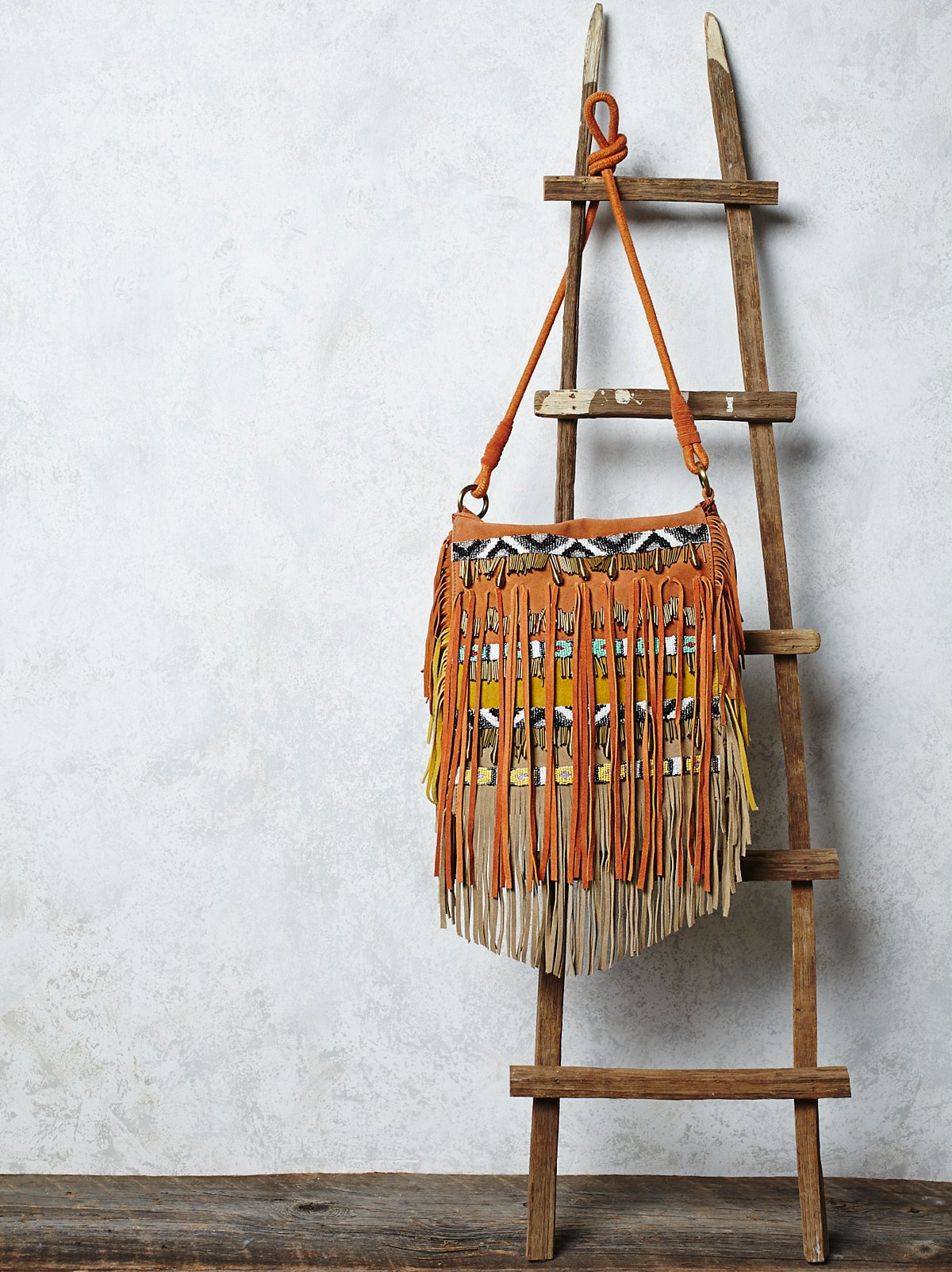 Sundown Fringe Crossbody