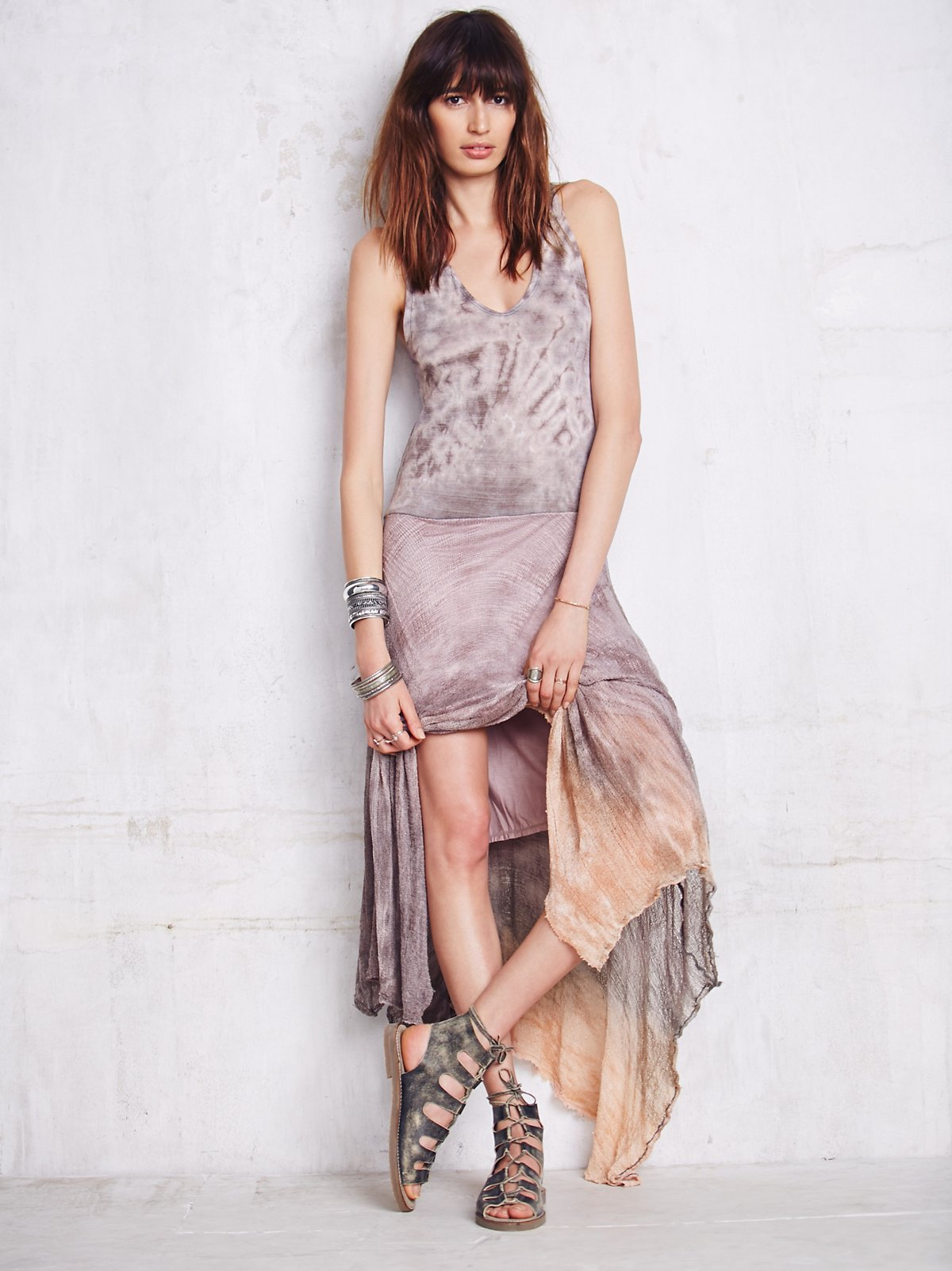 Distressed Lounge Dress