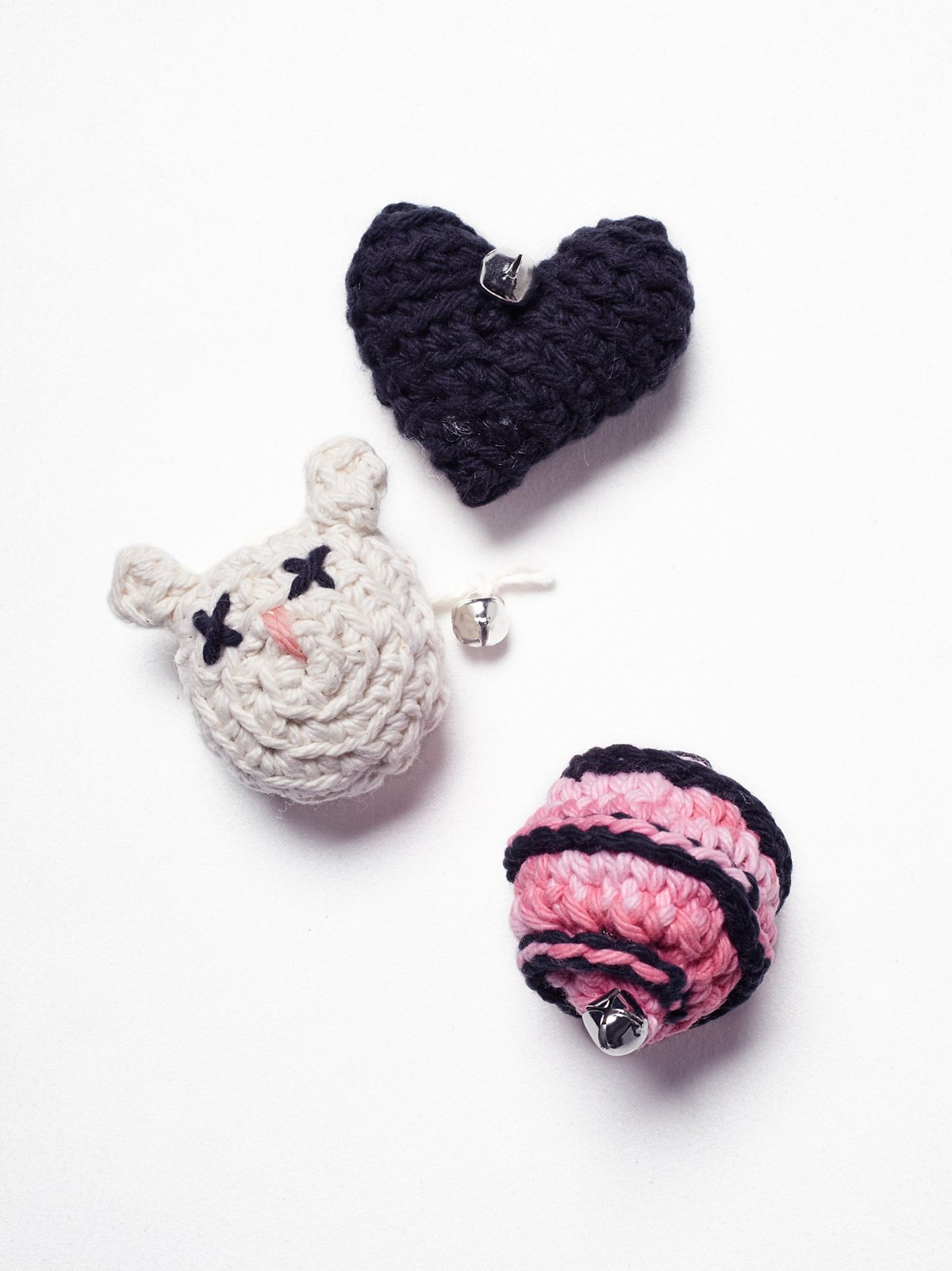 Heart Catnip Toy Set