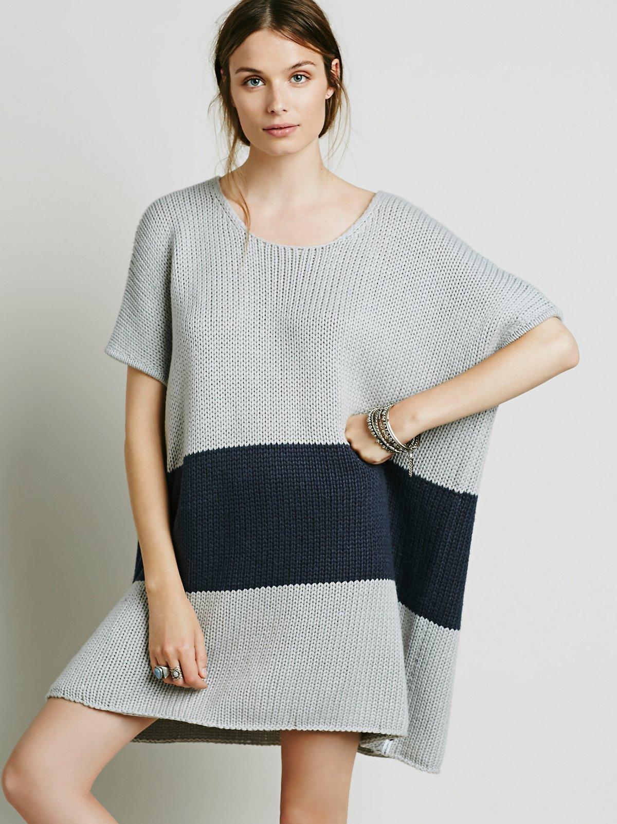 法国粗织毛衣