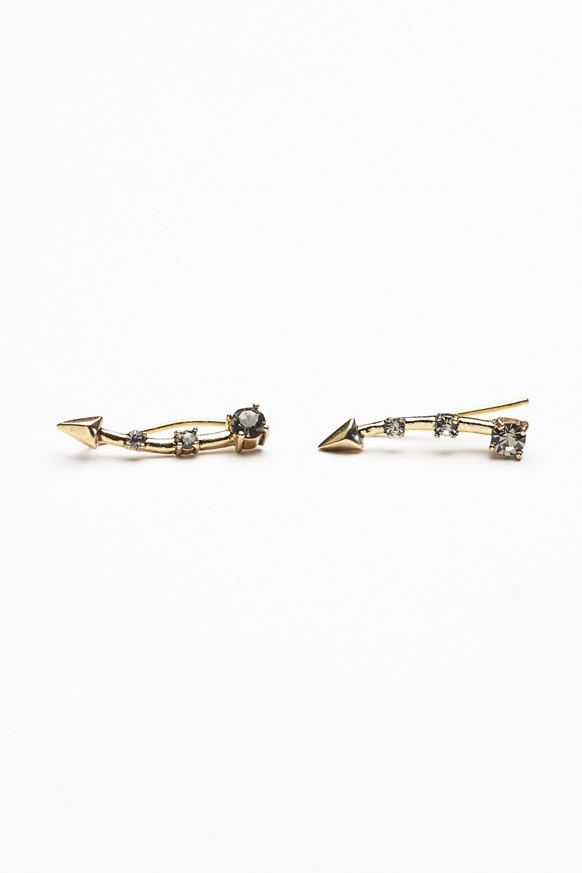 Pave Pointe Ear Pins