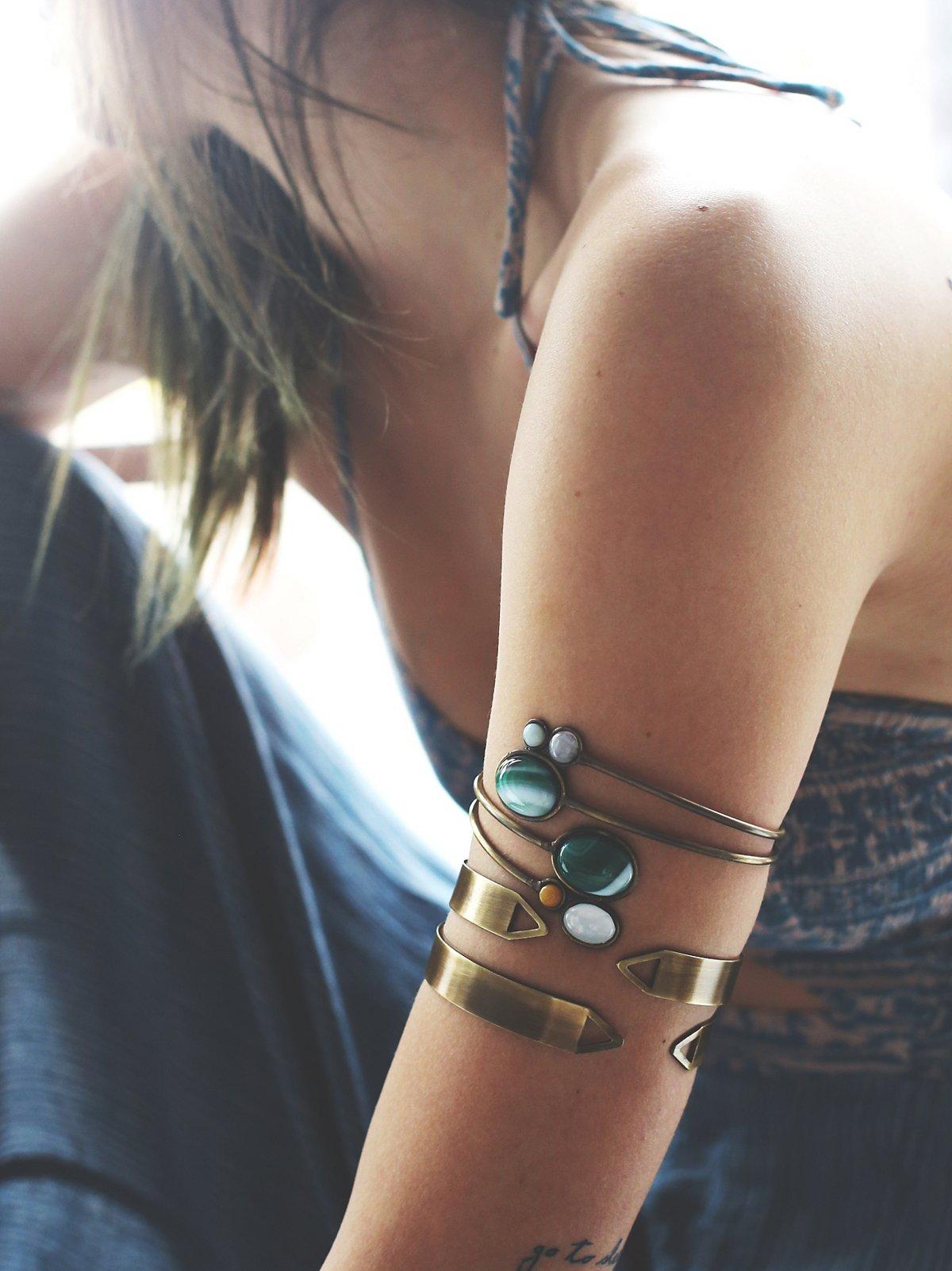 金属臂环两件套