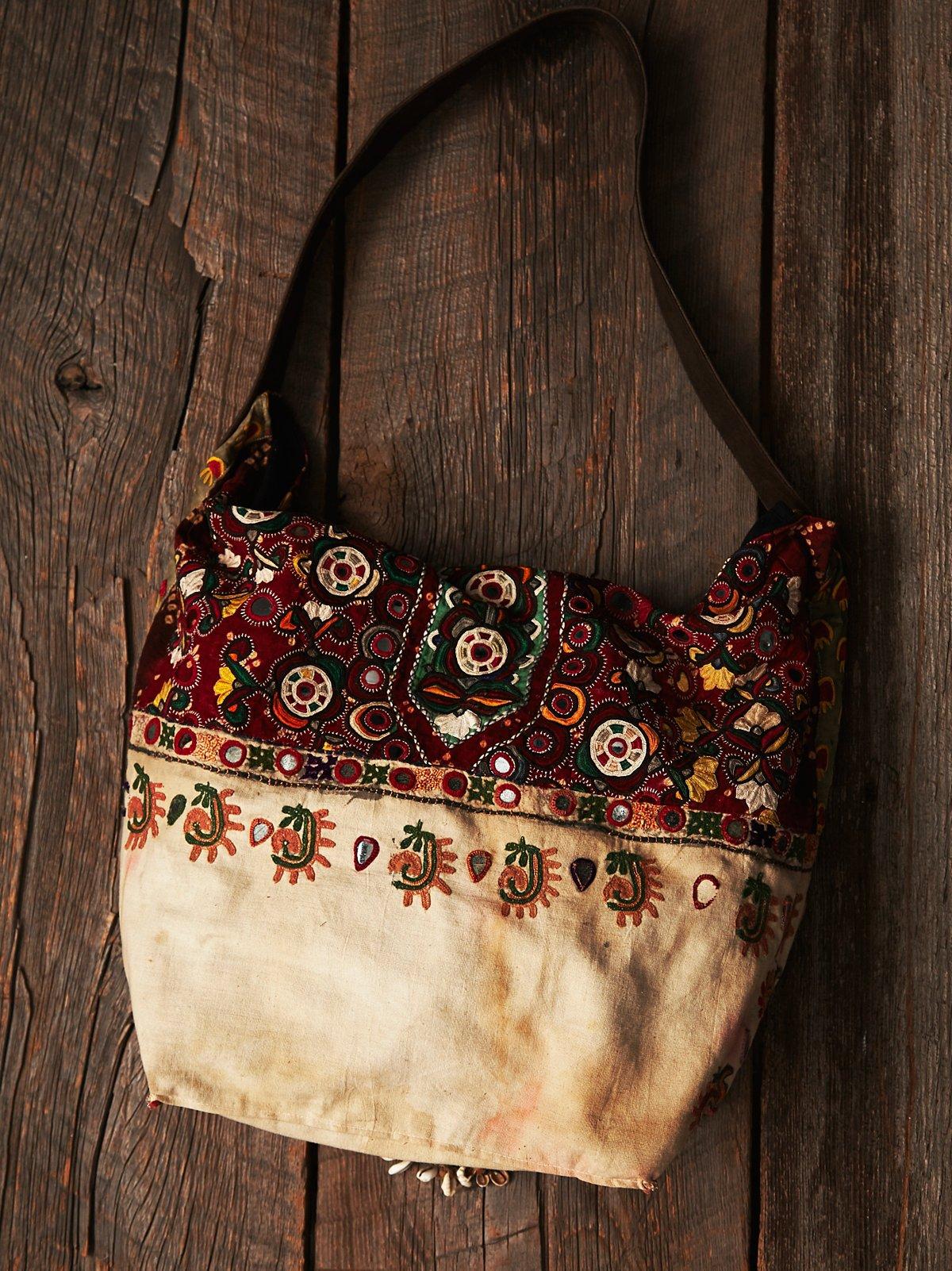 Vintage Oversized Shoulder Bag
