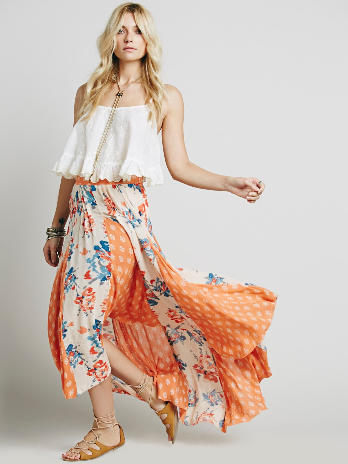 Show You Off Maxi Skirt