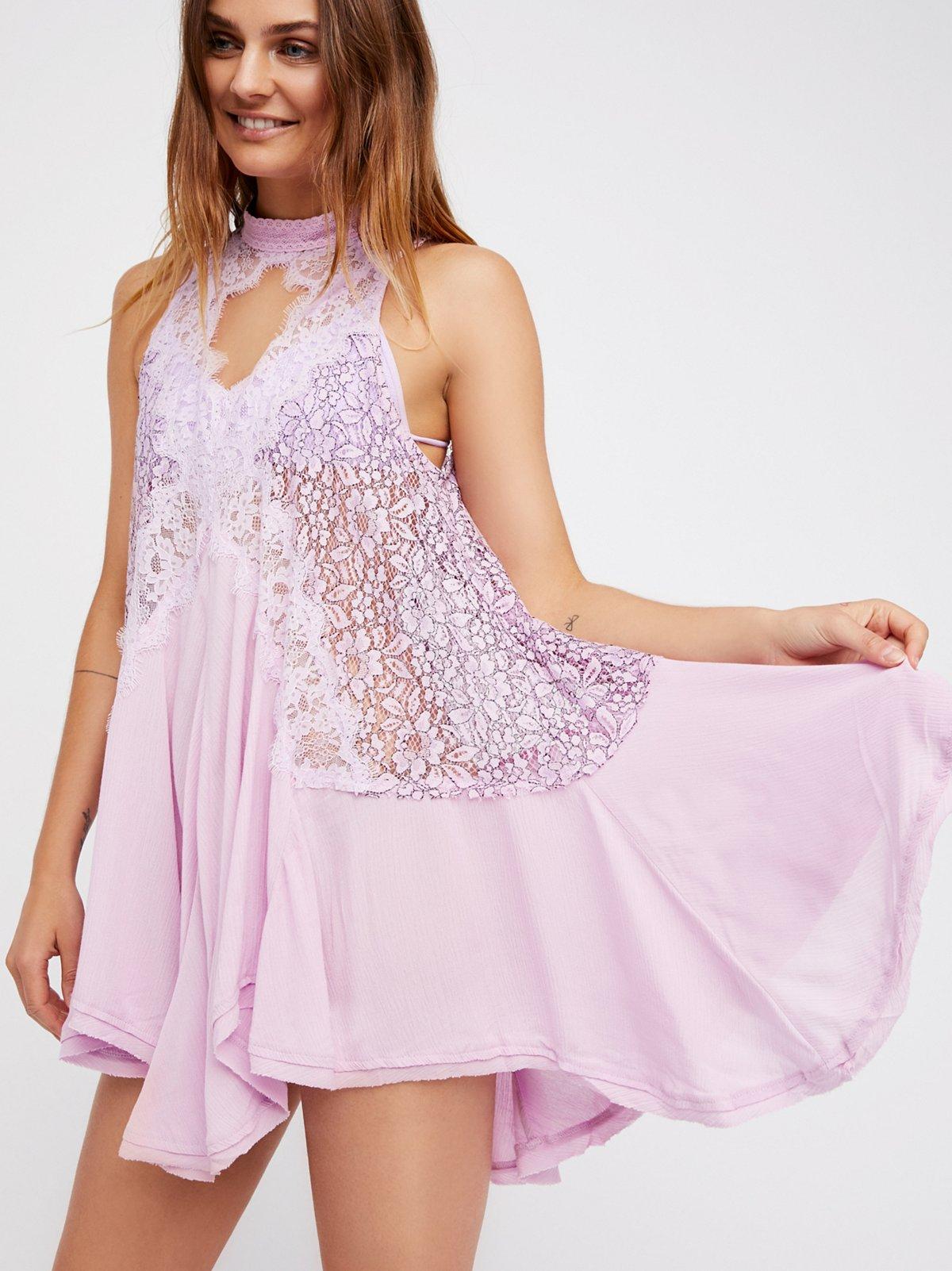 Cross My Heart in Lace Tunic