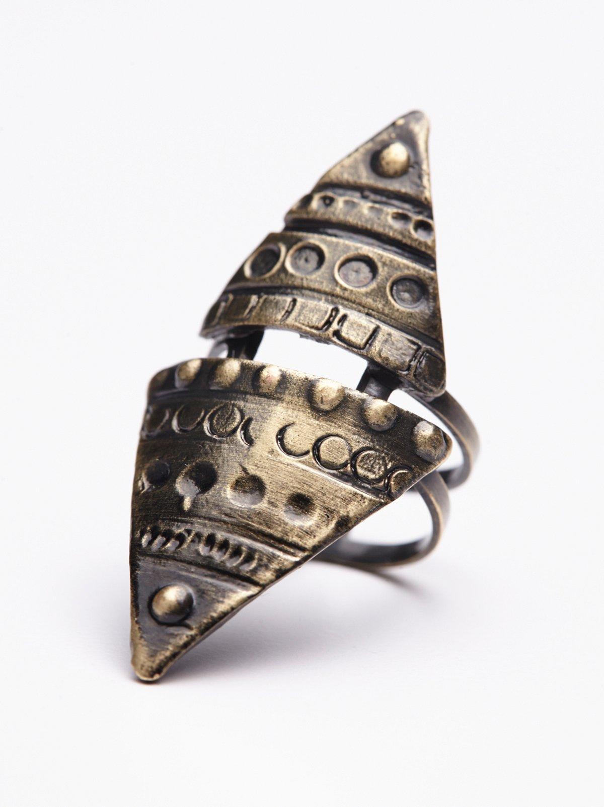 Tibetan Triangle Ring