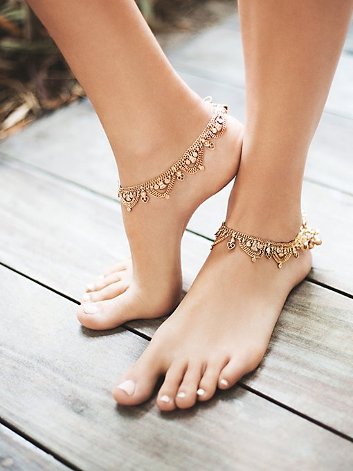 Product Image: Raindrops Anklet Set
