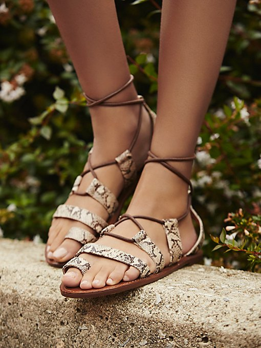 Product Image: Vegan Maddie Tie Up Sandal