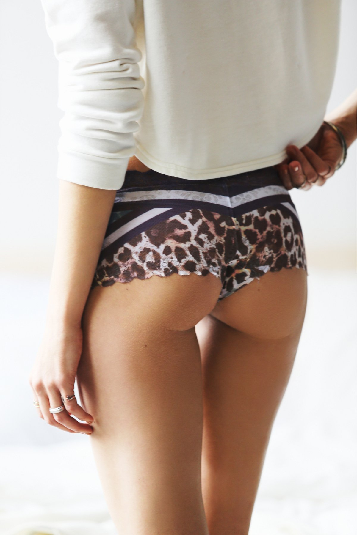 Structured Leopard Hipster