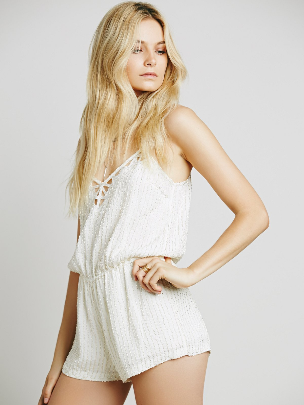 Shelby Embellished Romper