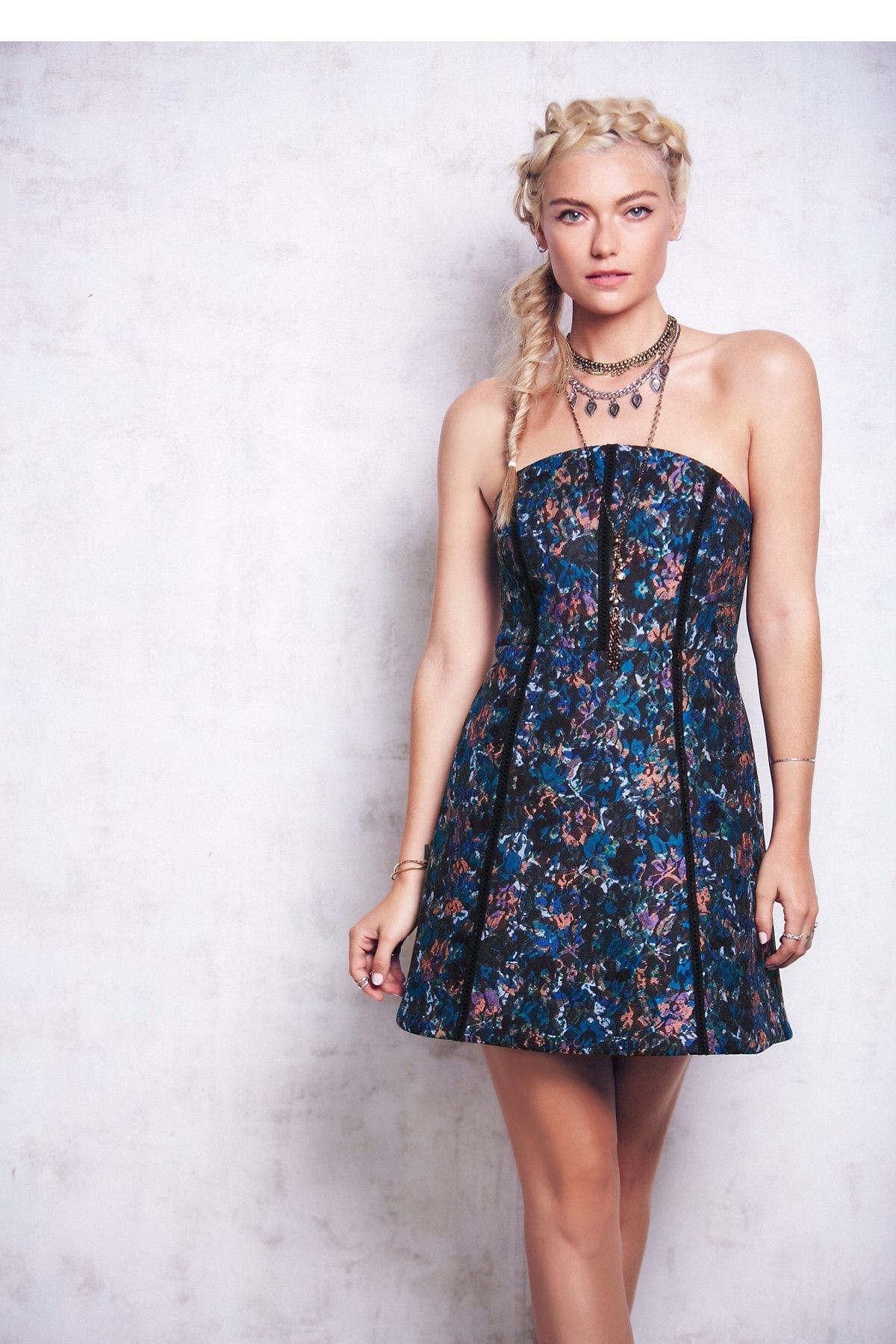 Black Lily Mini Dress
