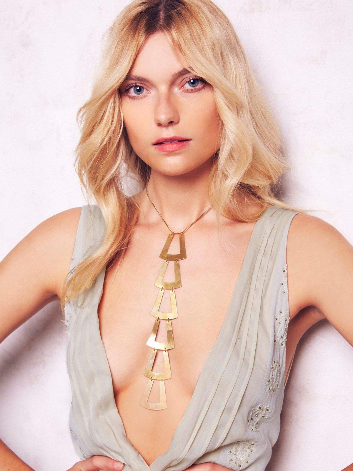 领带形项链
