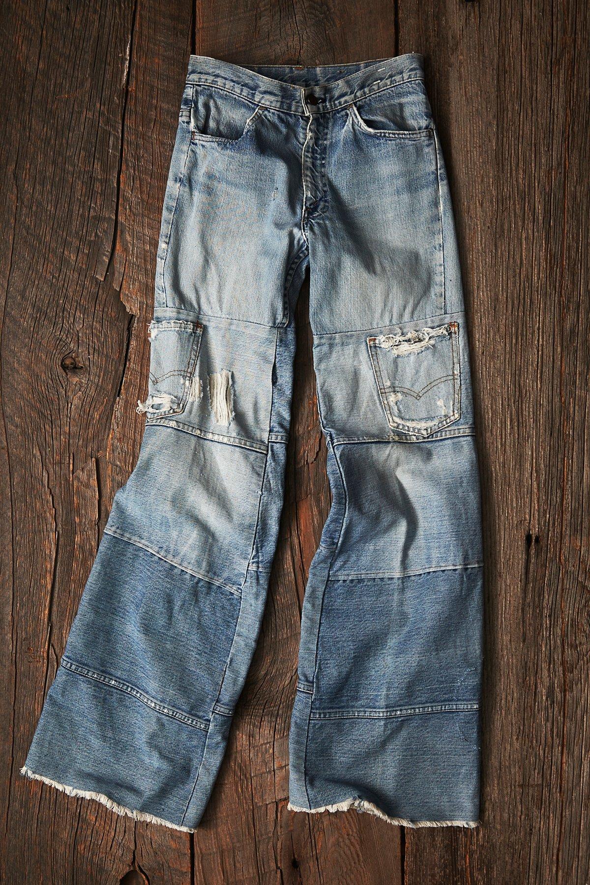 Vintage Patchwork Jeans