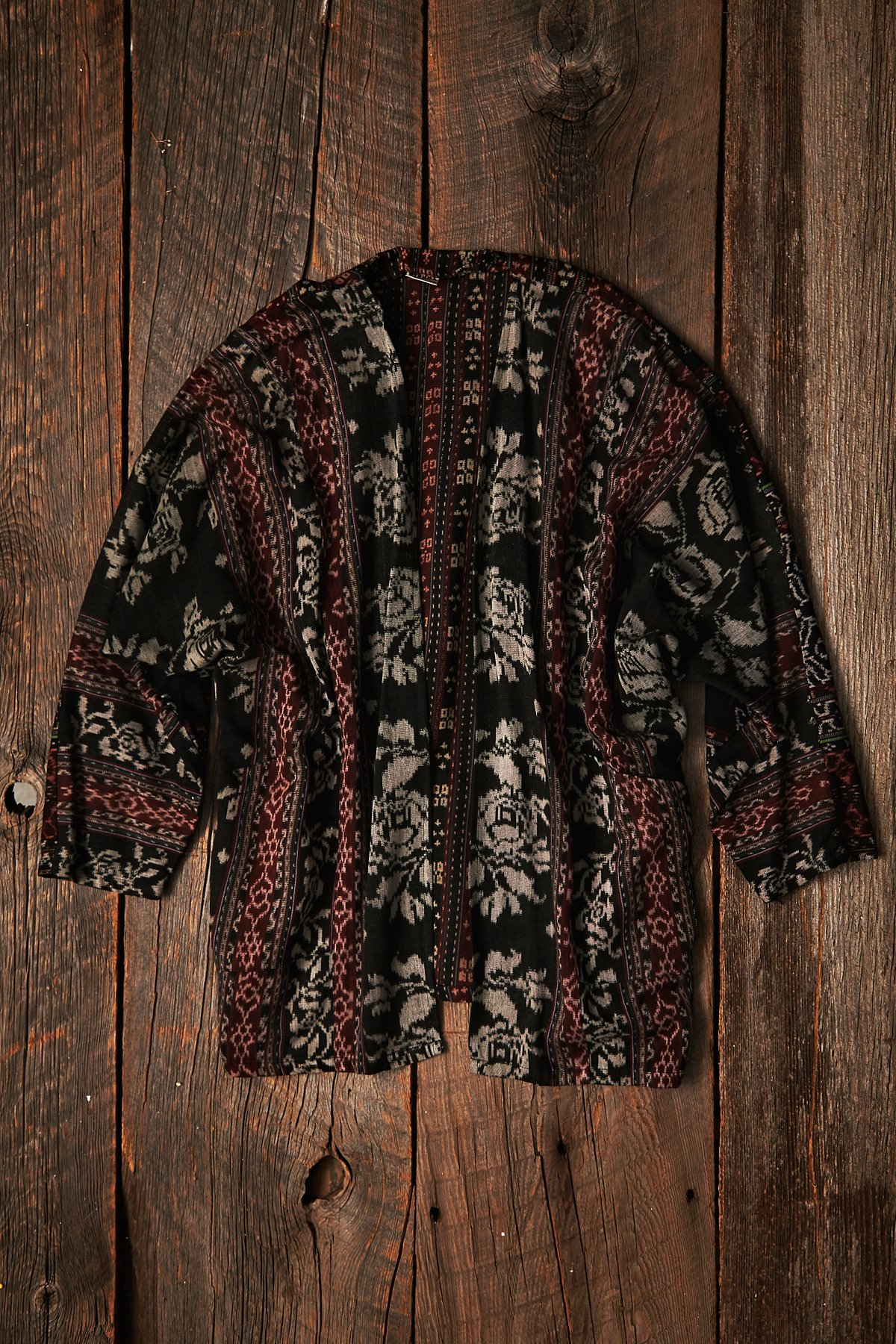 Vintage Embroidered Soft Jacket