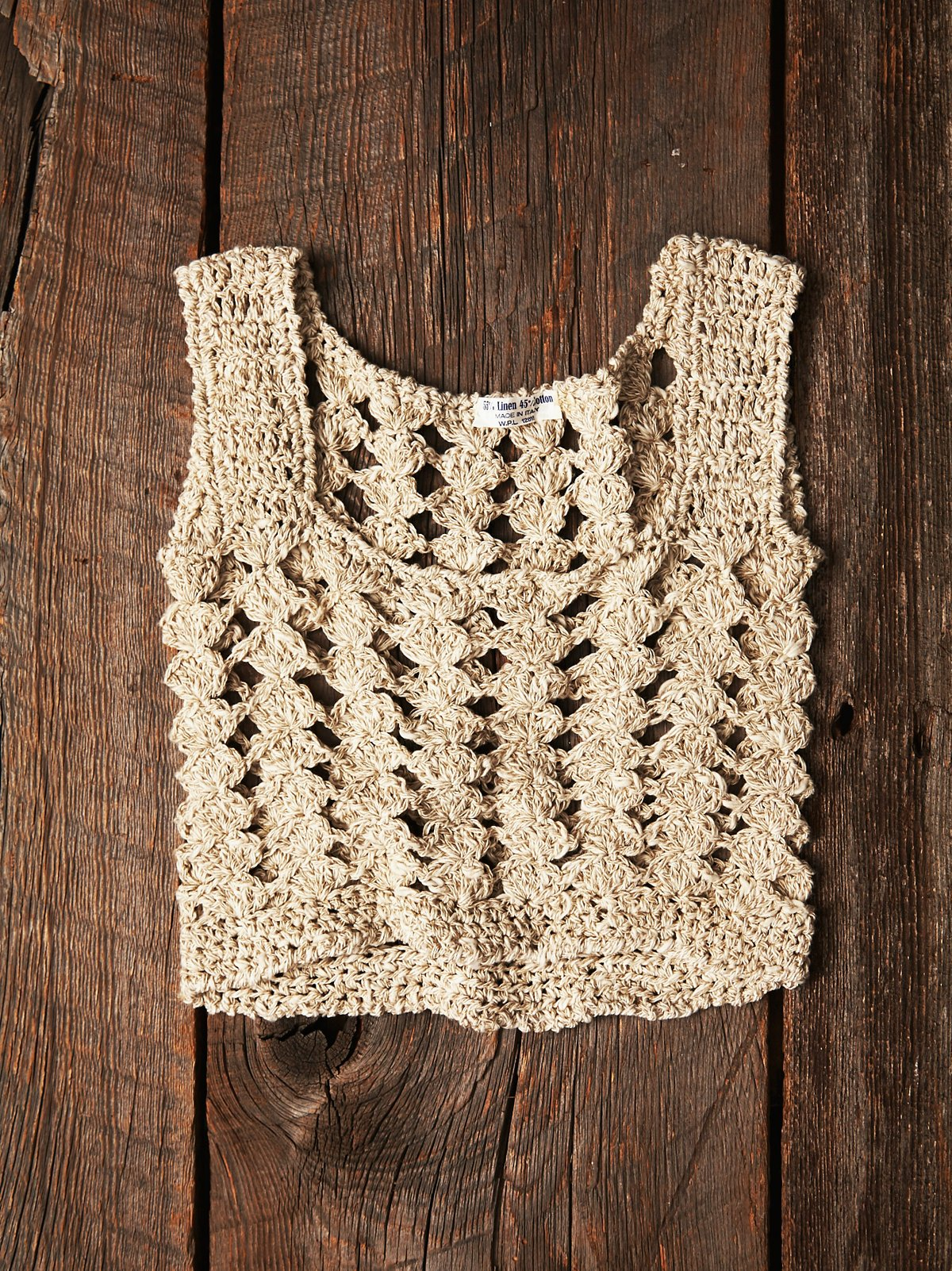 Vintage  Crochet Tank Top