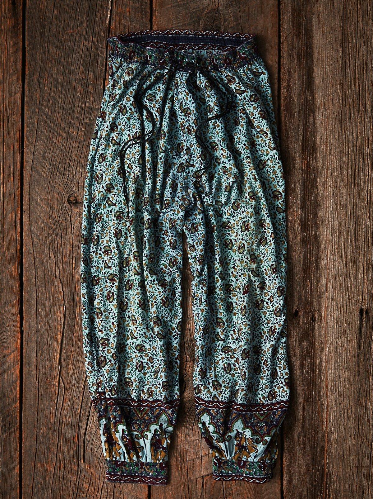 Vintage Indian Gauze Pants
