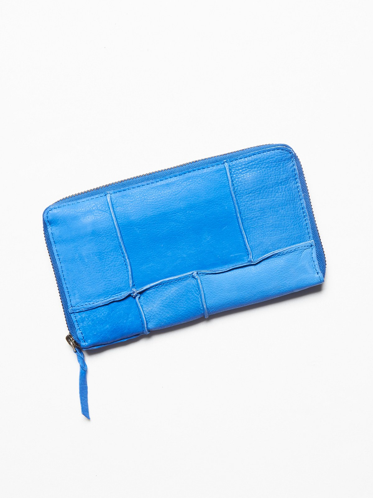 Pieced Leather Wallet
