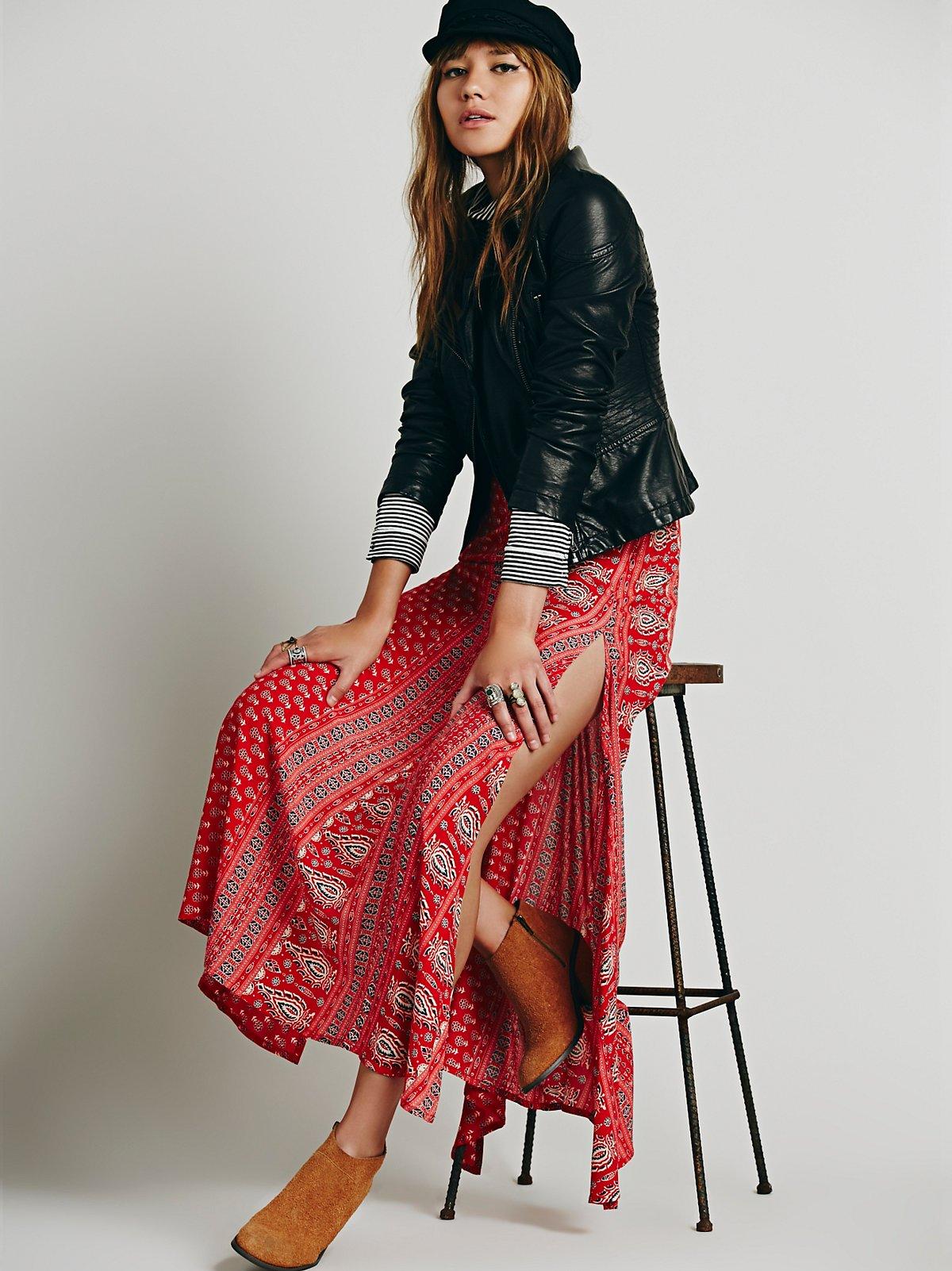 Wild Winds Maxi Skirt