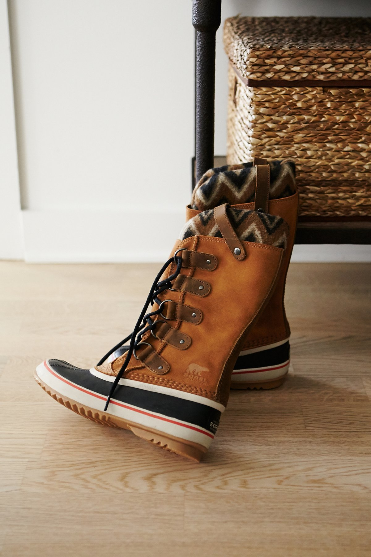 Joan Arctic Knit Weather Boot
