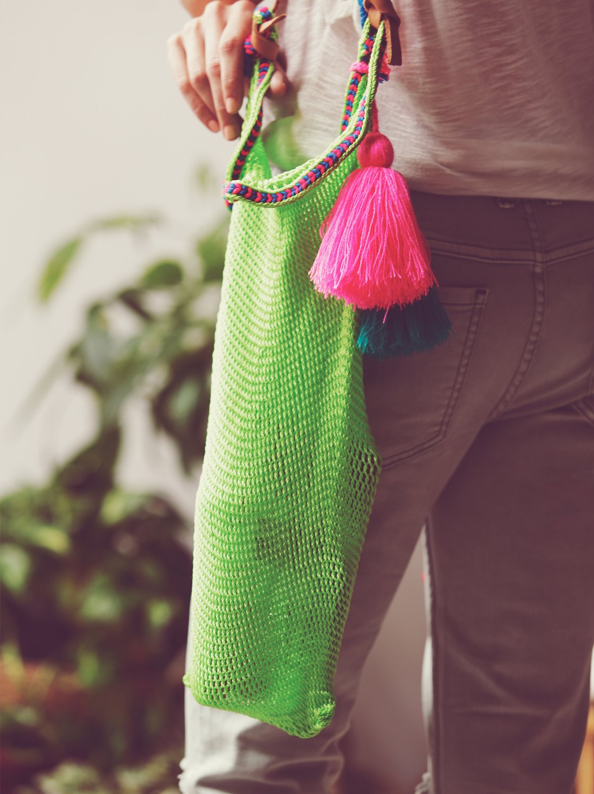 Santa Clara Crochet Tote