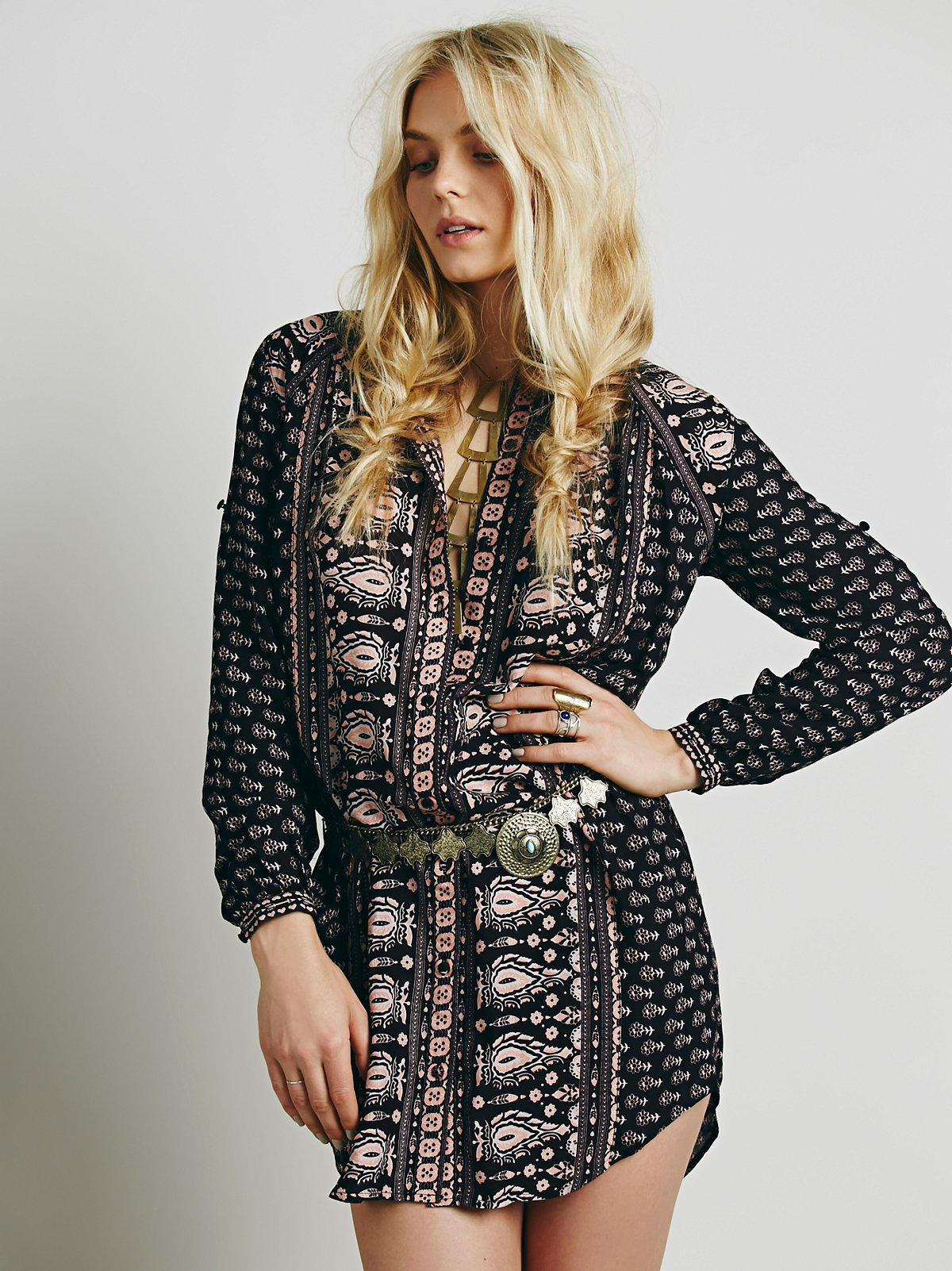 Gypsianna Shirt Dress