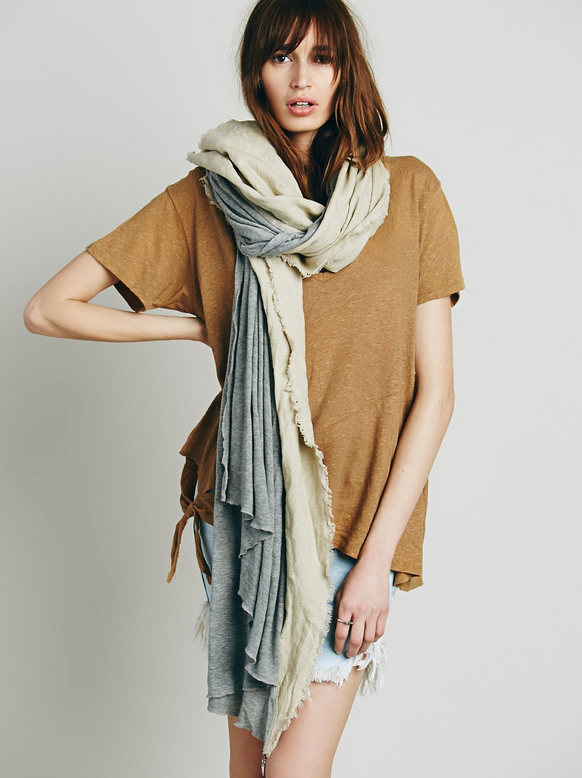 Donni Diagonal Oversized Scarf
