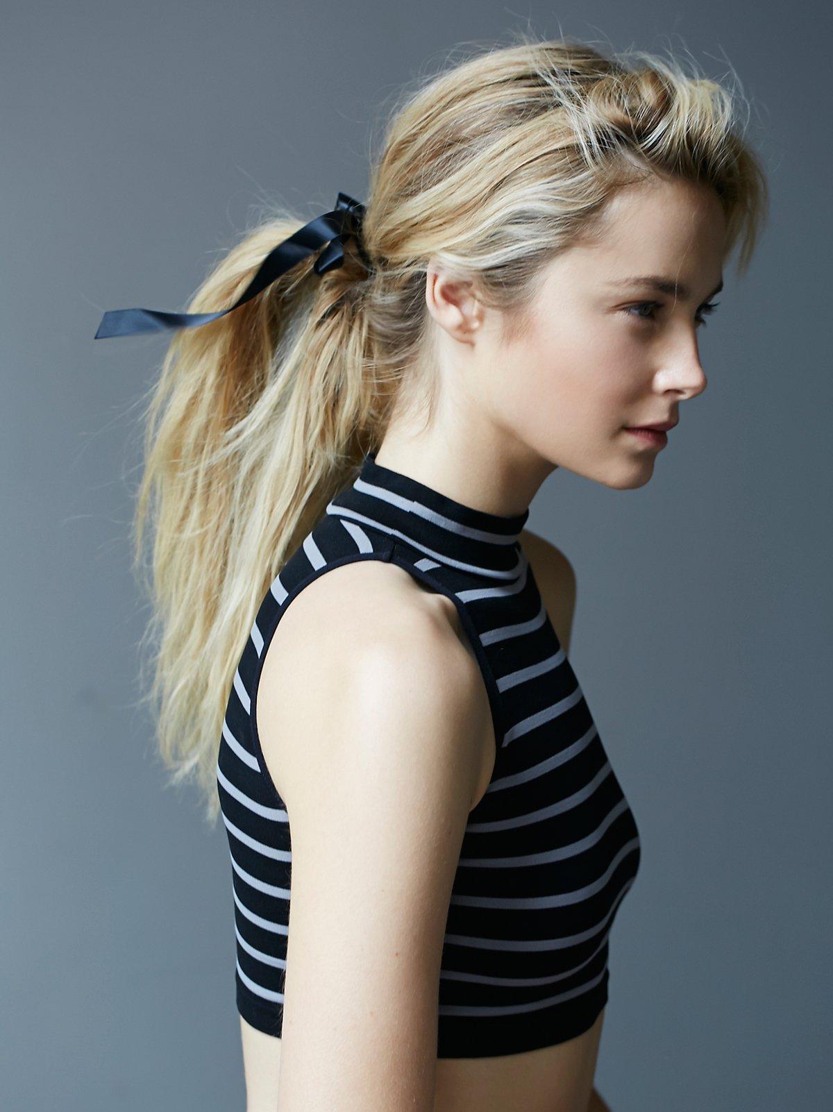 Chloe缎带松紧发带