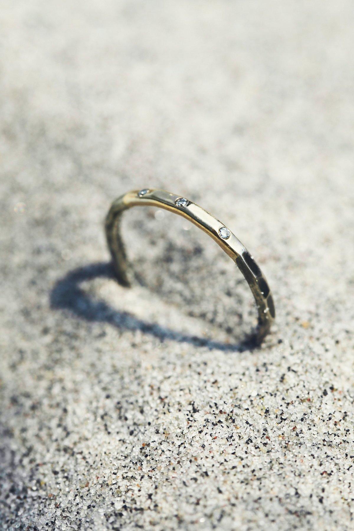 Gold Dipped Diamond Ring
