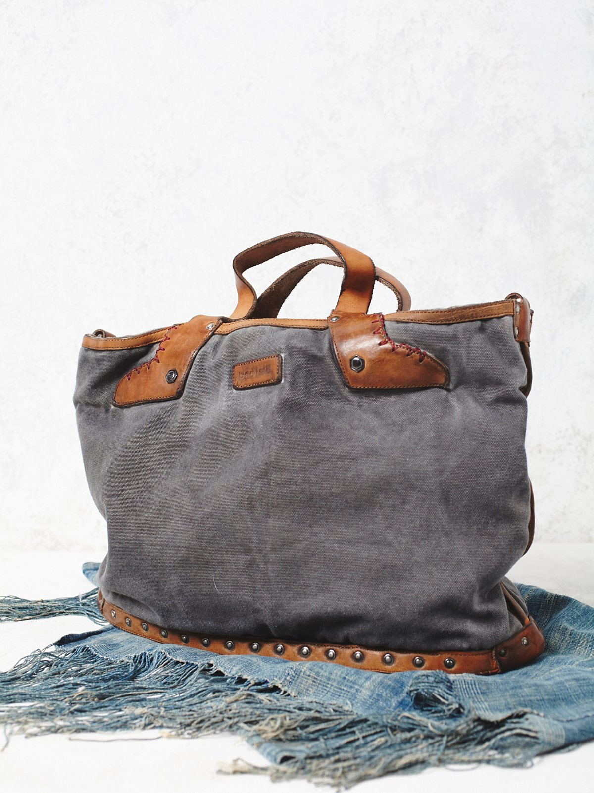 Washed Rail Tote