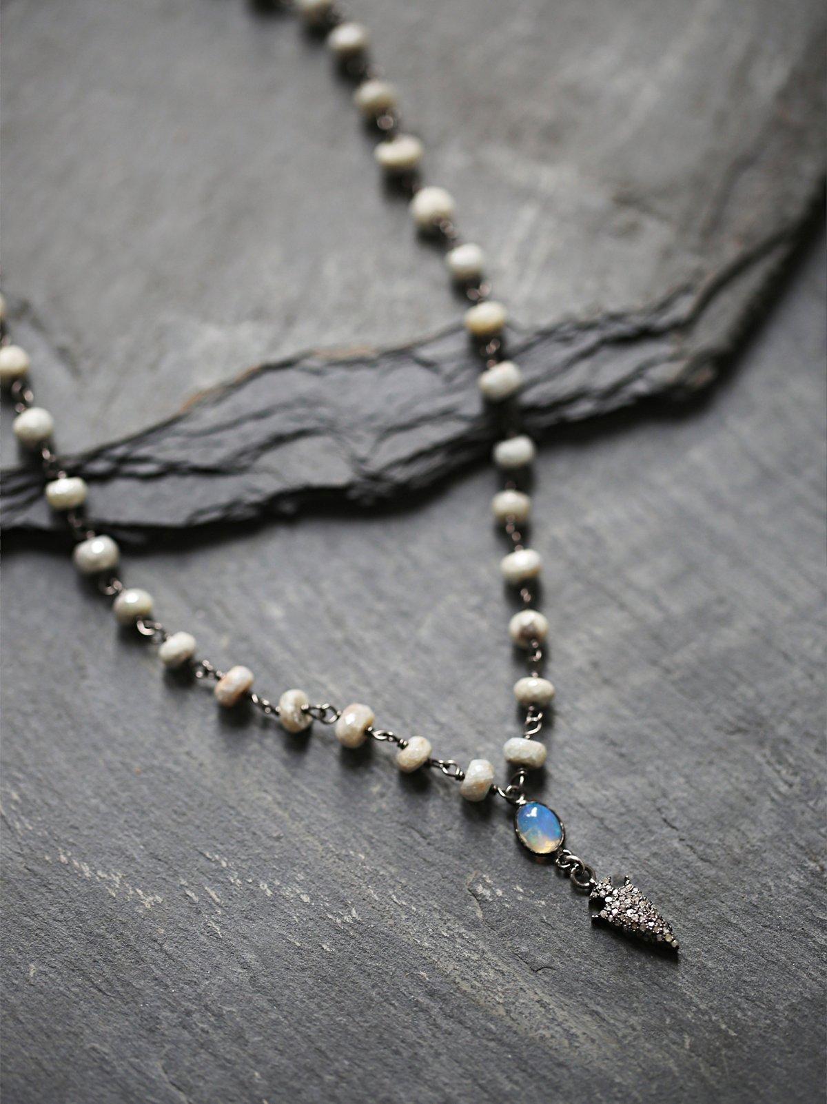 Diamond Drop颈链
