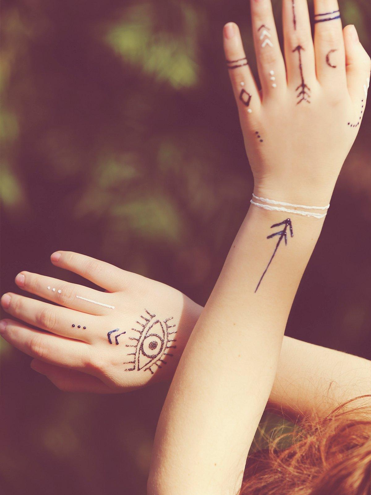 Henna人体彩绘