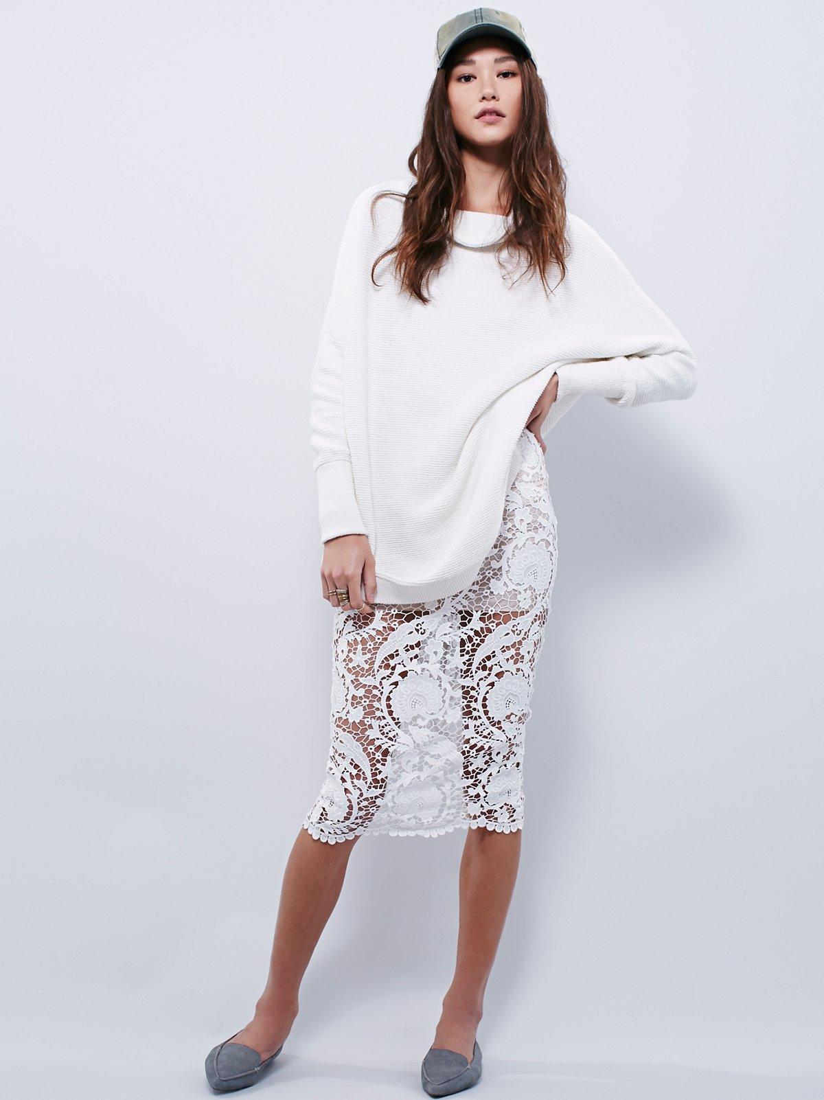 Elliot Lace Skirt