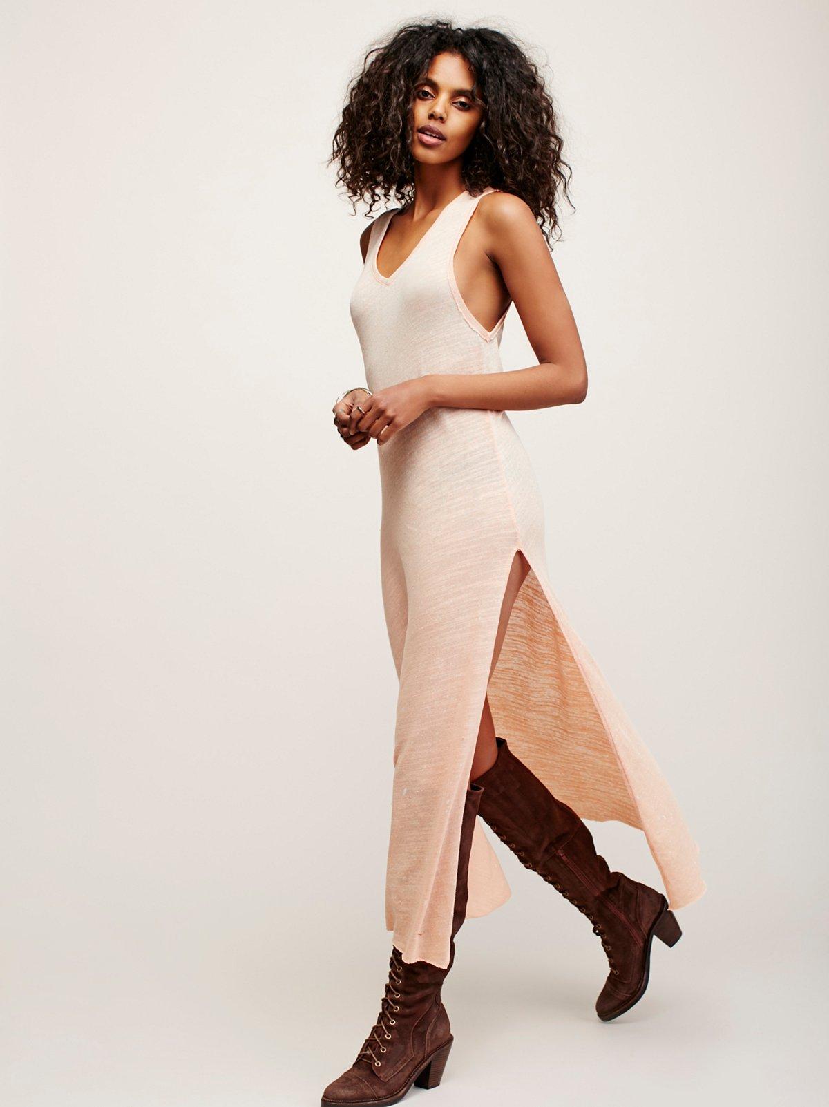 Galaxy及踝长裙