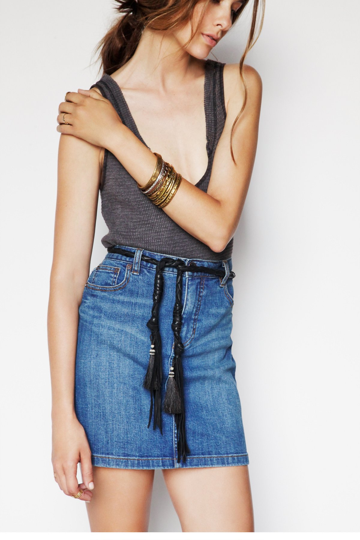 Horse Hair Tassel Belt