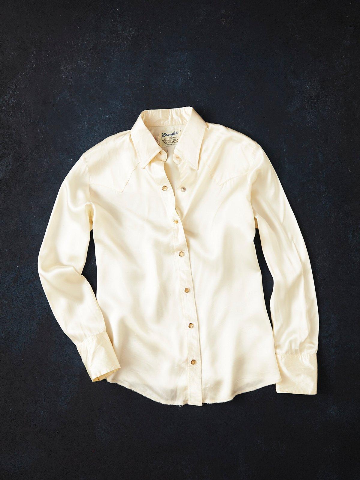 Vintage 1950s Wrangler Shirt