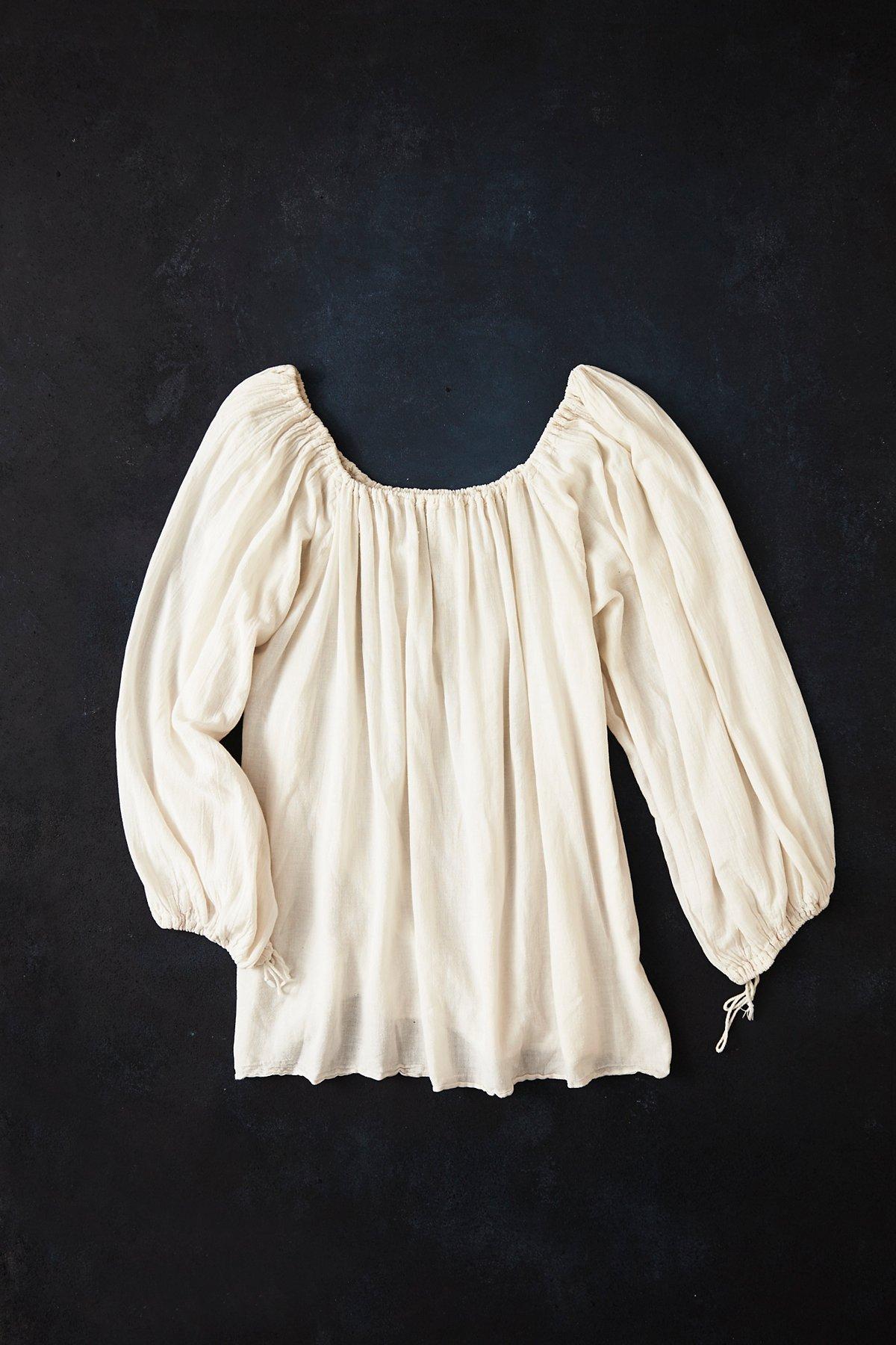 Vintage 1970s Cotton Top
