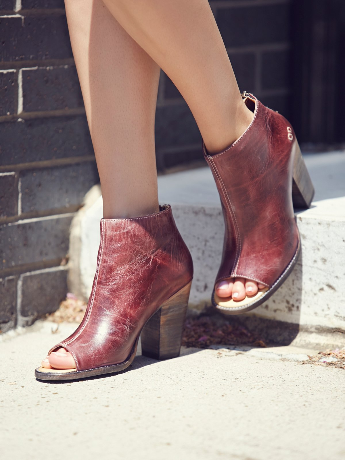 On Set Heeled Ankle Boot
