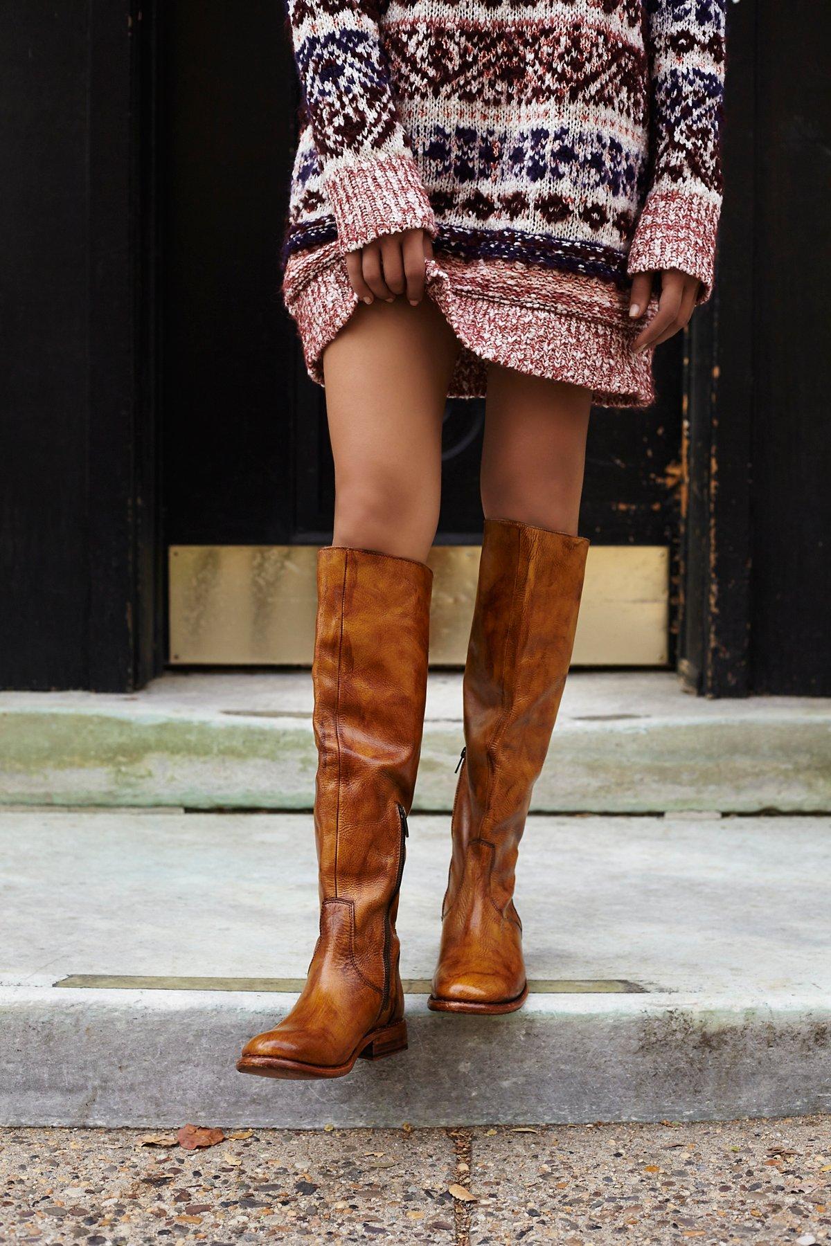 Abbey高筒长靴