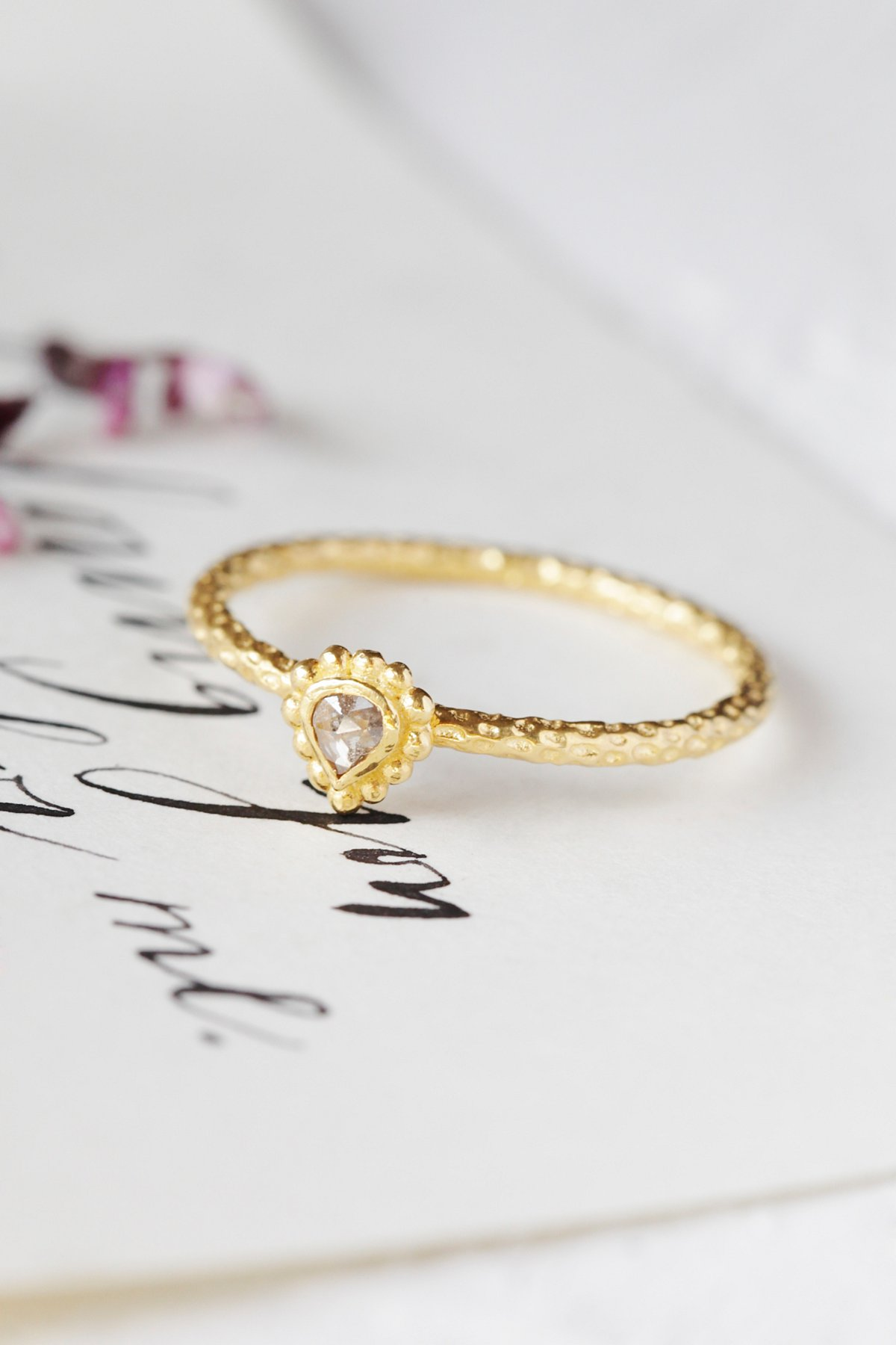Diamond Bindi Ring
